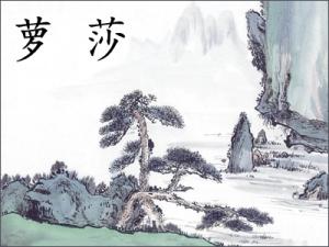 Rosa en chino