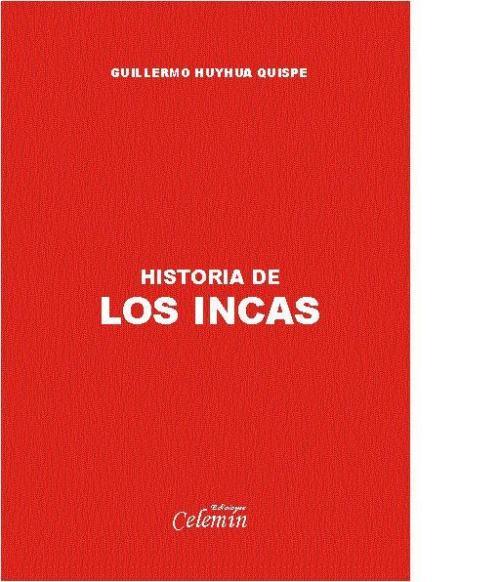 """Tapa del texto """"Historia de los Incas"""""""