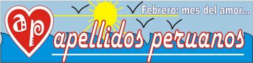 Logotipo de febrero 2009 de Apellidos Peruanos