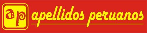 Logotipo amarillo de Apellidos Peruanos