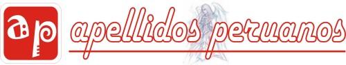 Logotipo de noviembre de Apellidos Peruanos