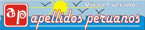 Logotipo de enero de Apellidos Peruanos