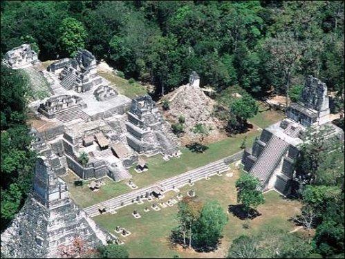Ruina Maya. Foto de Tom Server