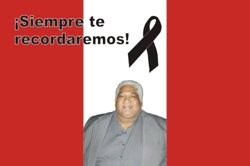 Hasta siempre Zambo Cavero