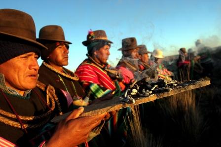 BOLIVIA AYMARA NEW YEAR
