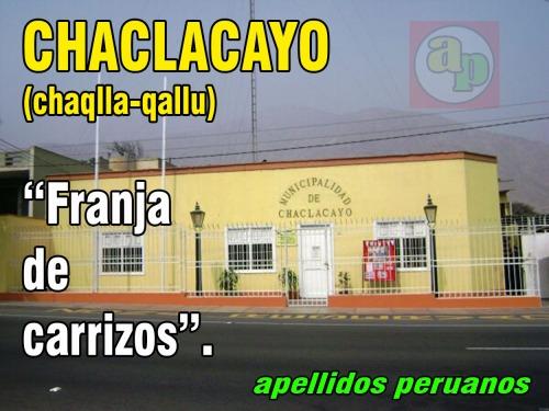 chaclacayo 1