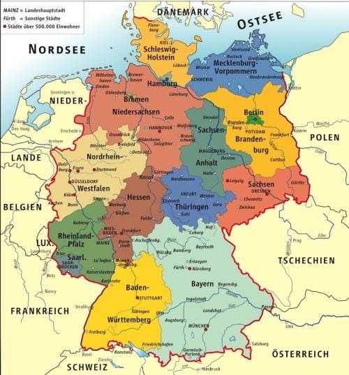 mapa-landers-alemania